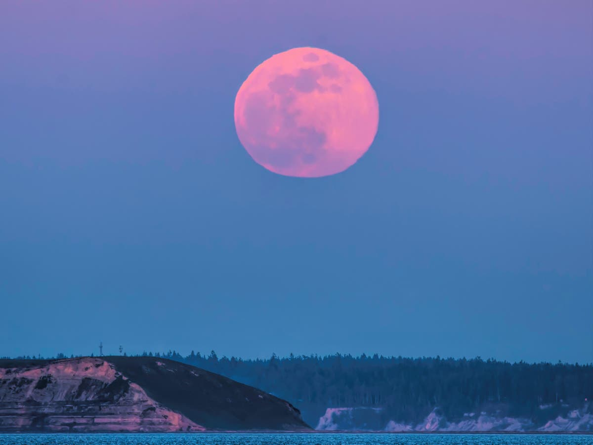 Full moon 2021: Supermoon in April will be biggest in over a year