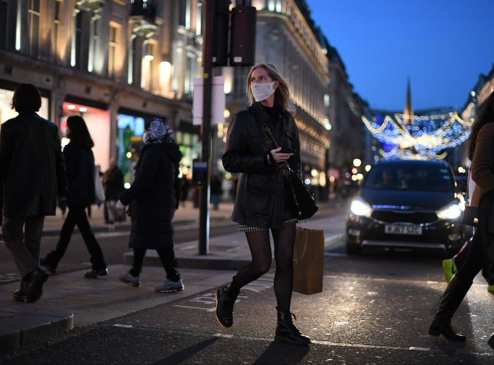 <p>The Kent variant spread throughout the UK in the run-up to Christmas</p>