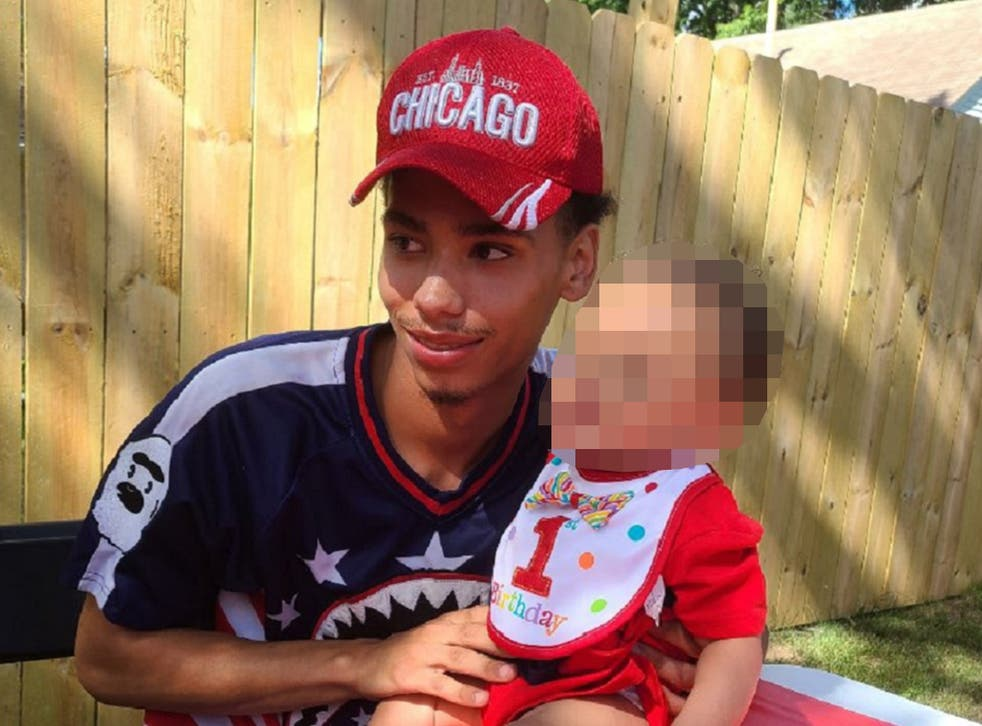 <p>Daunte Wright, who was killed by police, leaves behind a two-year-old son</p>