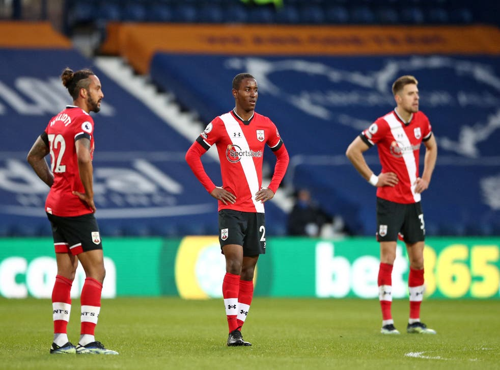 Southampton were humiliated by West Brom