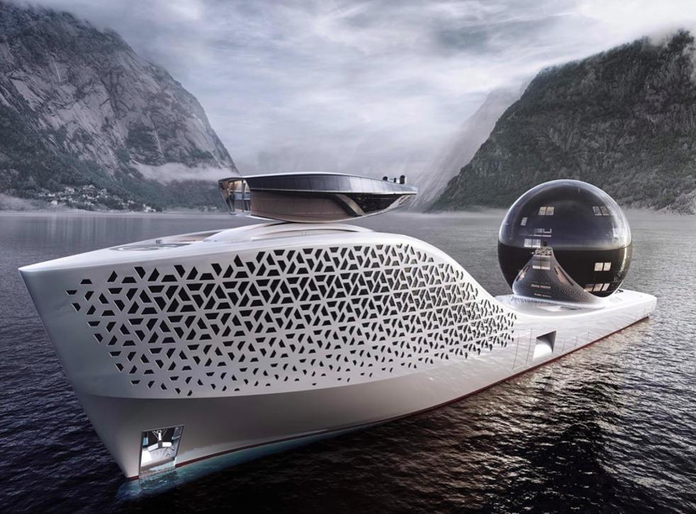 <p>Iddes yachts reveals 300-metre yacht designed for environmental exploration</p>