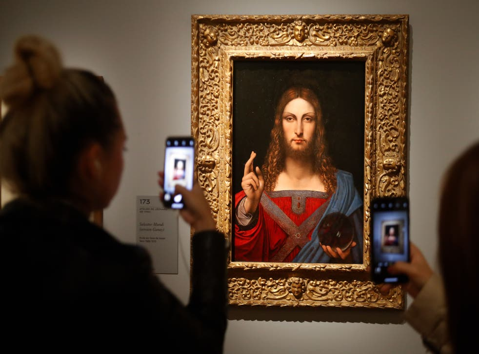 <p>'Salvator Mundi', possibly created by Da Vinci, was bought for $450m in 2017</p>