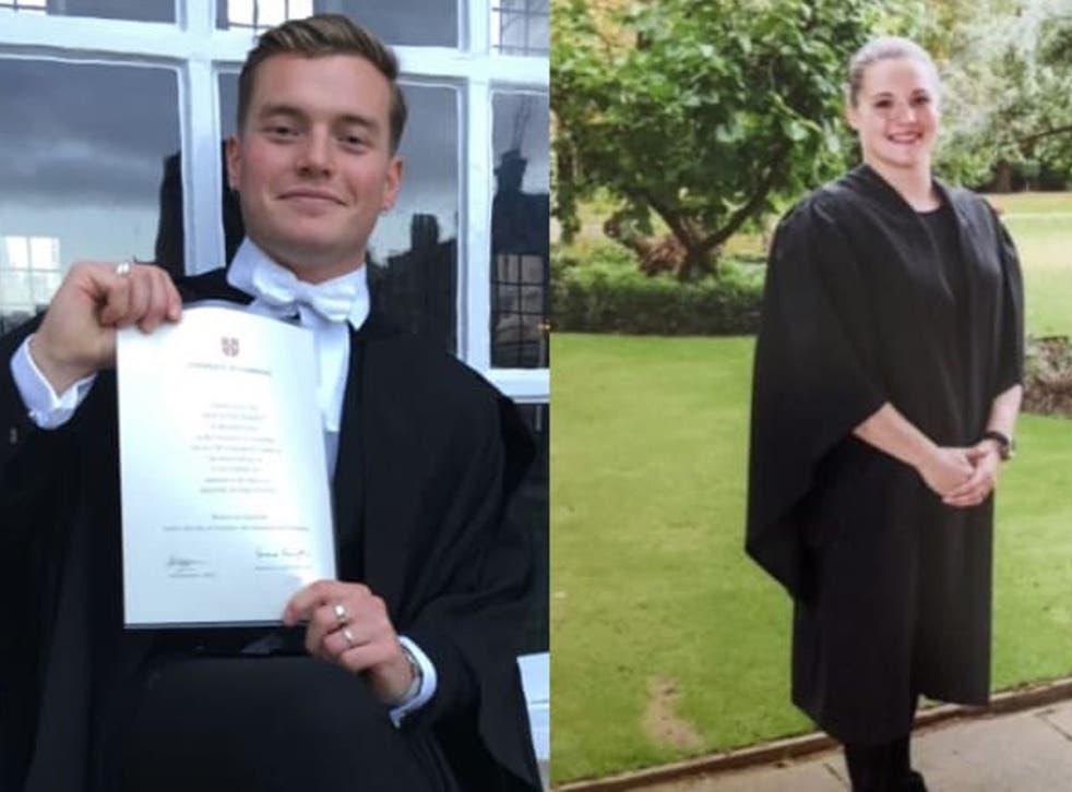 <p>Victims: Jack Merritt and Saskia Jones</p>