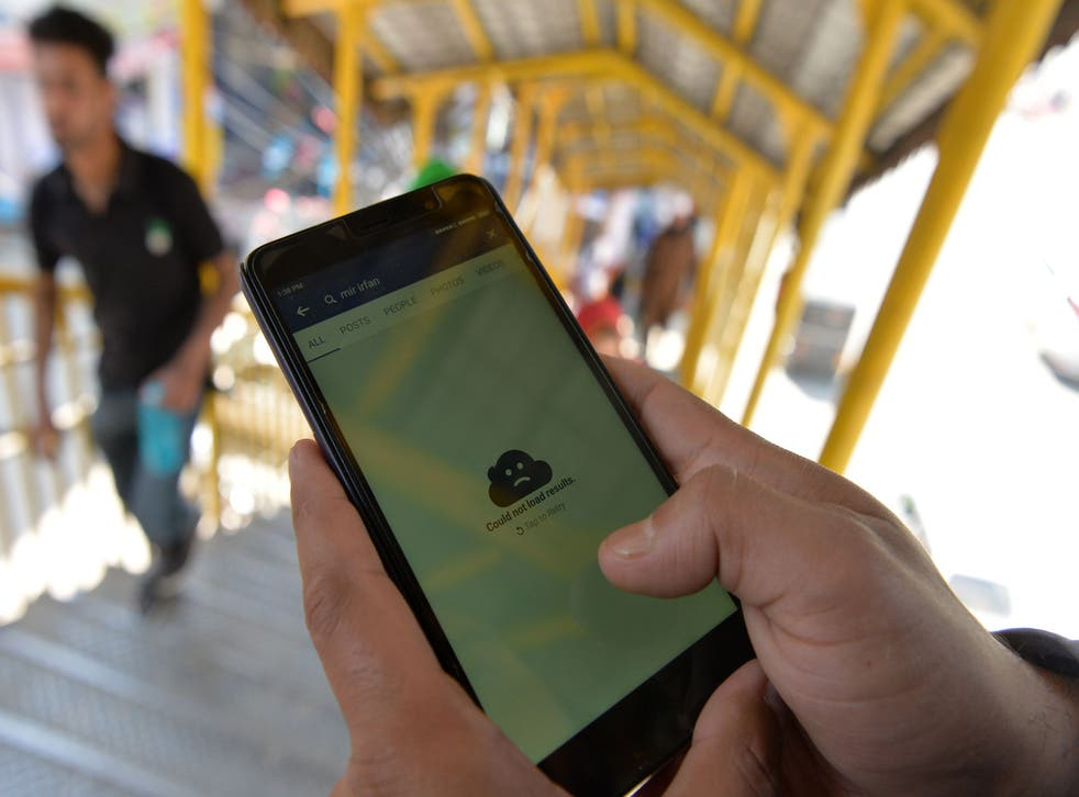 <p>File image: Indian administered Kashmir has faced the longest internet shutdown ever reported in a democracy </p>
