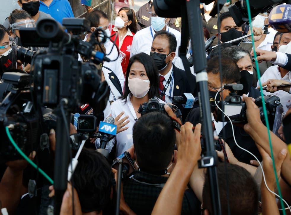 <p>Fujimori buscará la presidencia de Perú en medio de acusaciones de corrupción y tras haber salido de la prisión</p>