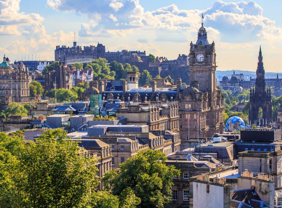 Edinburgh, the Scottish capital