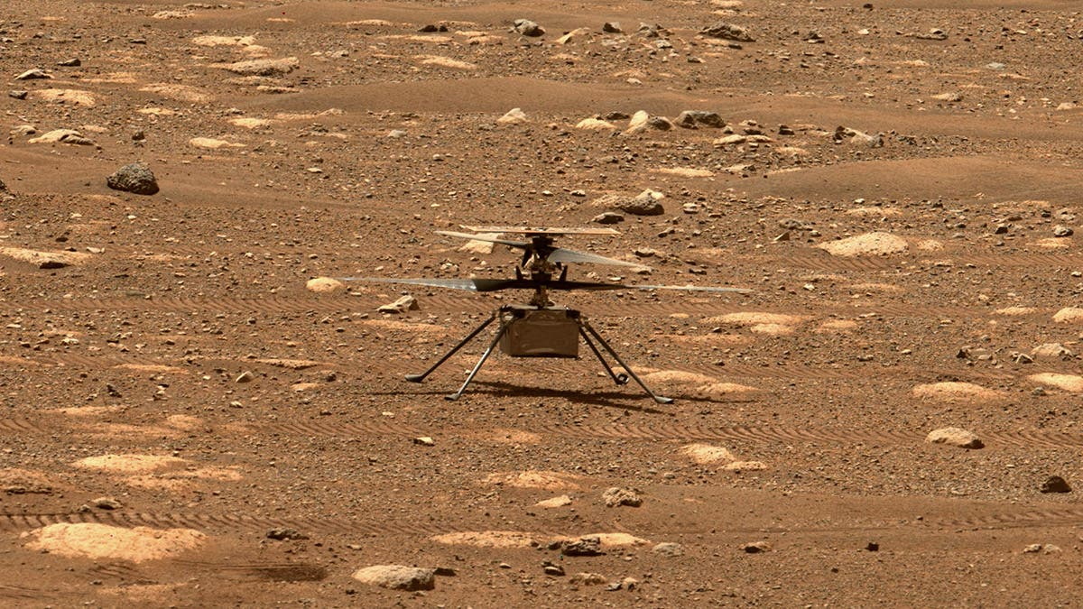 Nasa's Mars Ingenuity helicopter is stuck and urgently needs a software update