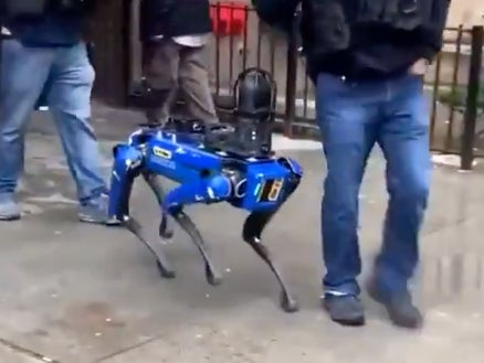 New York police trial robot dogs in 'Black Mirror'-like video