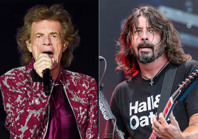 MICK JAGGER-DAVE GROHL