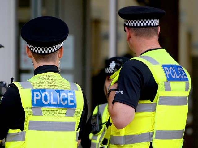 The individual was arrested on suspicion of carrying an offensive weapon (stock image)