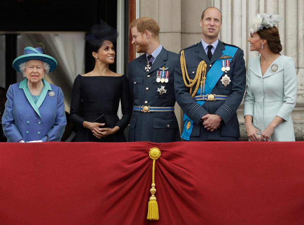 Britain Prince Philip Harry and William