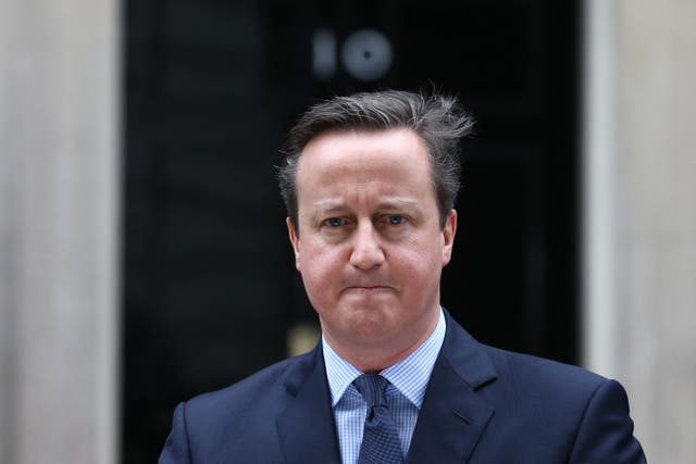 <p>Former prime minister David Cameron is facing questions about his lobbying role for financial services company GreensillCapital</p>