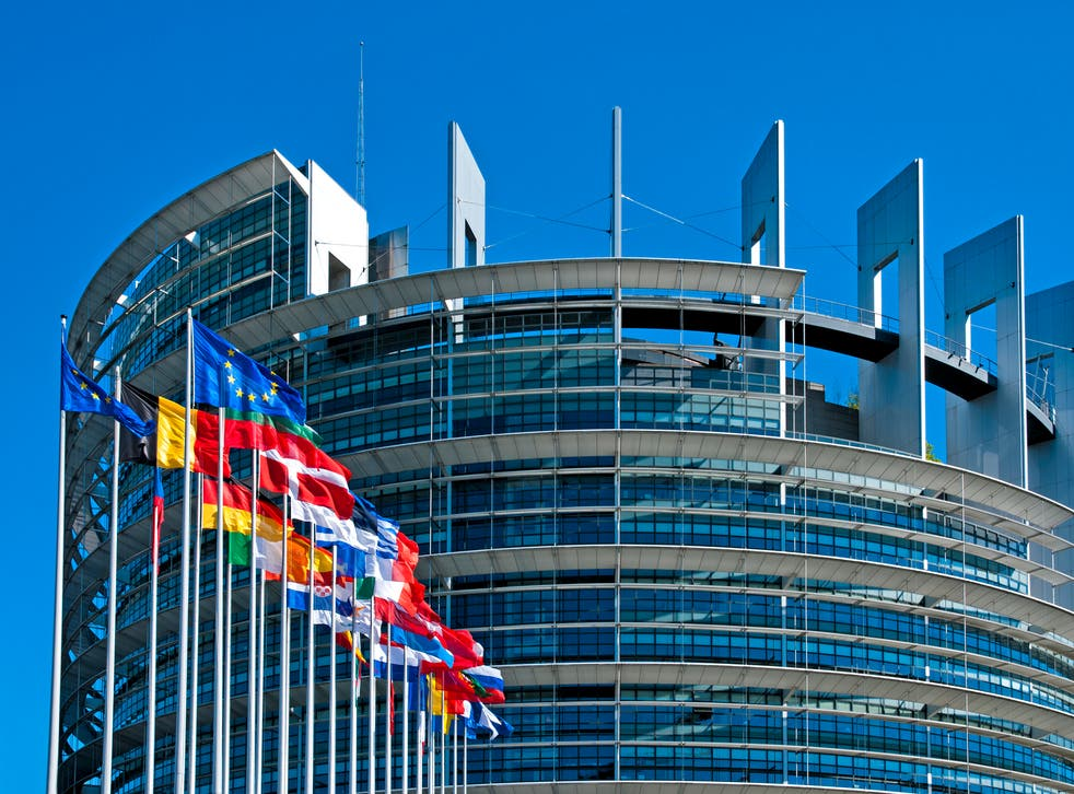 The European Parliament building in Strasbourg, where ordinary plenary sessions are held