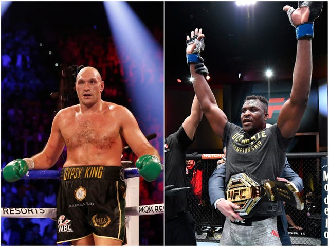 Might the boxing and UFC heavyweight champions one day meet in the ring?