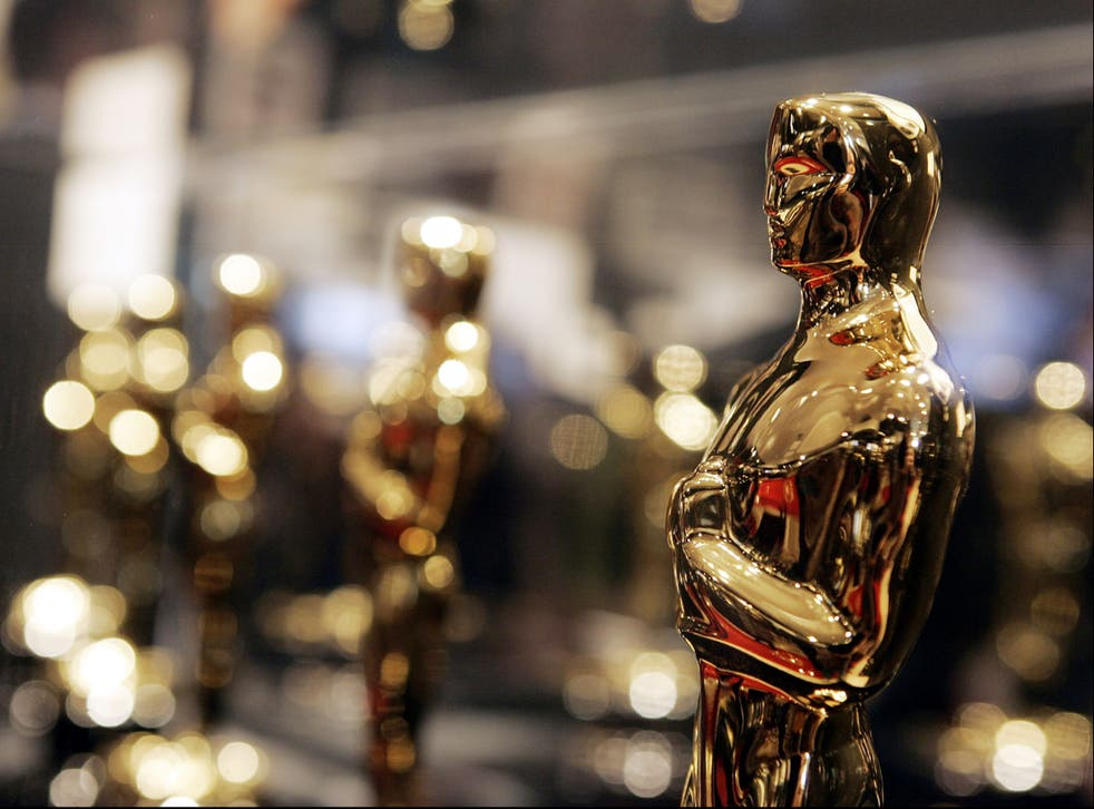 <p>Out of time: Awards shows such as the Oscars are shedding their once-huge audiences as the pandemic decimates cinema attendance</p>