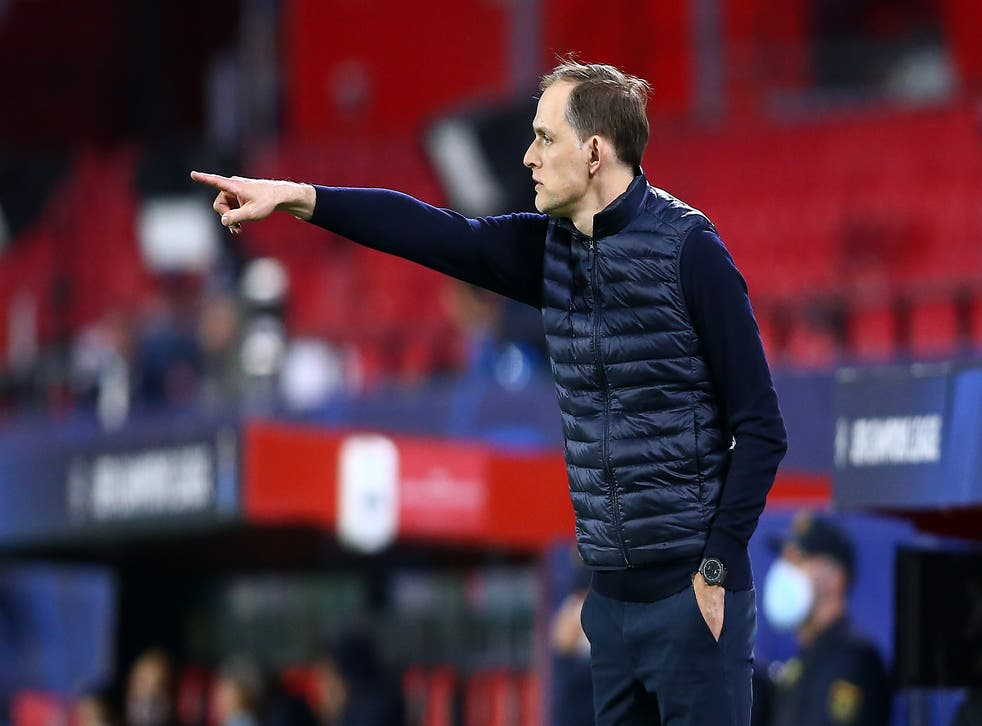 Thomas Tuchel in Chelsea's 1-0 loss to FC Porto on Tuesday night