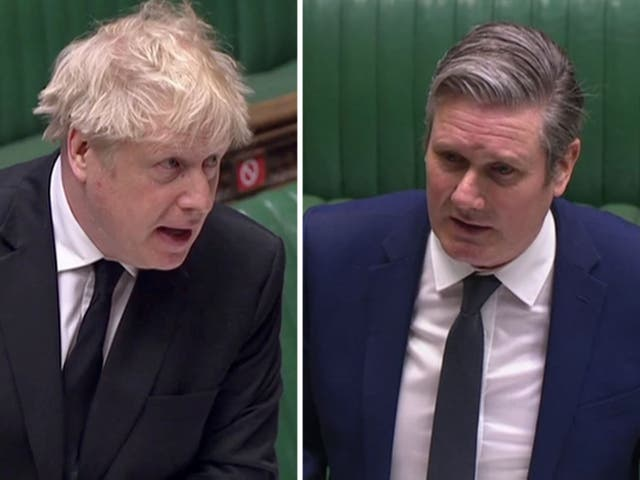 <p>Keir Starmer tried to pin Boris Johnson down on the Greensill lobbying scandal at PMQs</p>