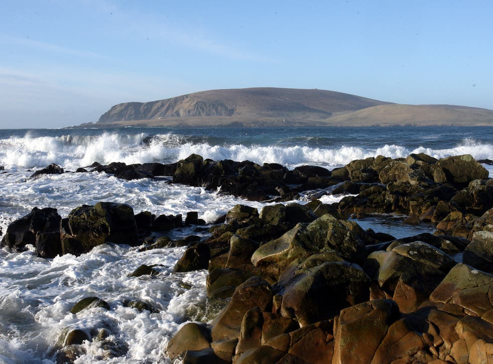 Shetland coastline