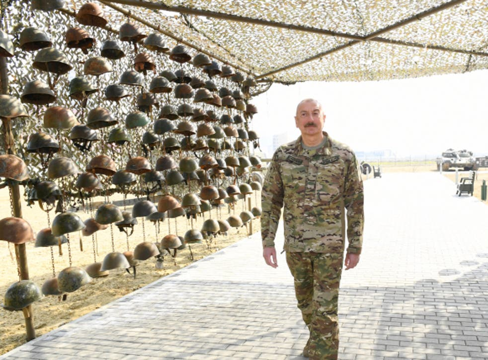 <p>Military Trophy Park in Baku is scheduled to open to the public soon</p>