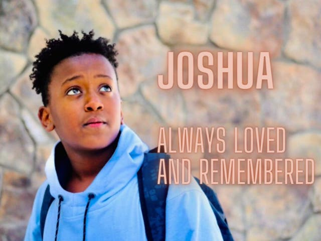 12-year-old Joshua Haileyesus died after attempting the 'blackout challenge' on TikTok.