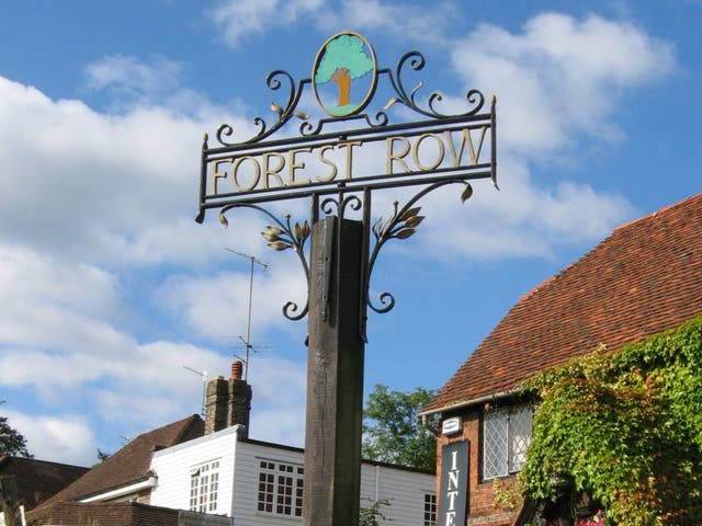 <p>Forest Row, or 'Frow', to those in the know</p>
