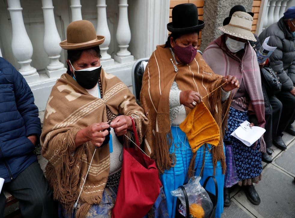 APTOPIX Virus Outbreak Bolivia