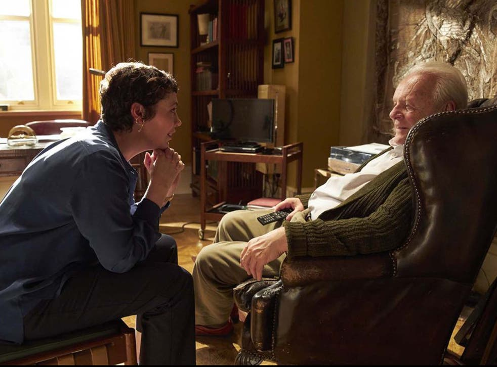 <p>Olivia Colman and Anthony Hopkins both feature in The Father</p>