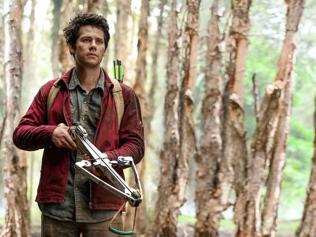 <p>Dylan O'Brien as Joe in 'Love and Monsters'</p>