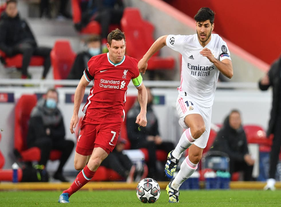 <p>James Milner captained Liverpool in the absence of Jordan Henderson</p>