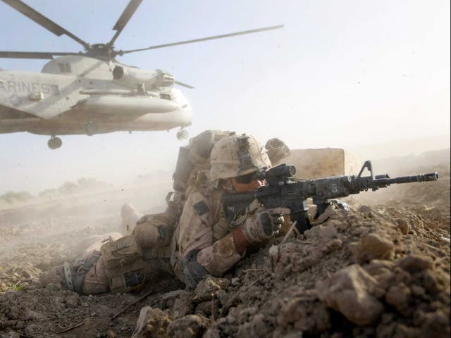 <p>All US forces are to be pulled out of Aghanistan by 11 September this year</p>