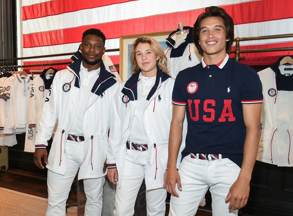 <p>Team USA's outfits for the 2020 Olympics closing ceremony</p>