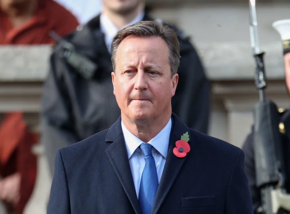 <p>Former prime minister David Cameron is under scrutiny for his dealings with Greensill Capital</p>