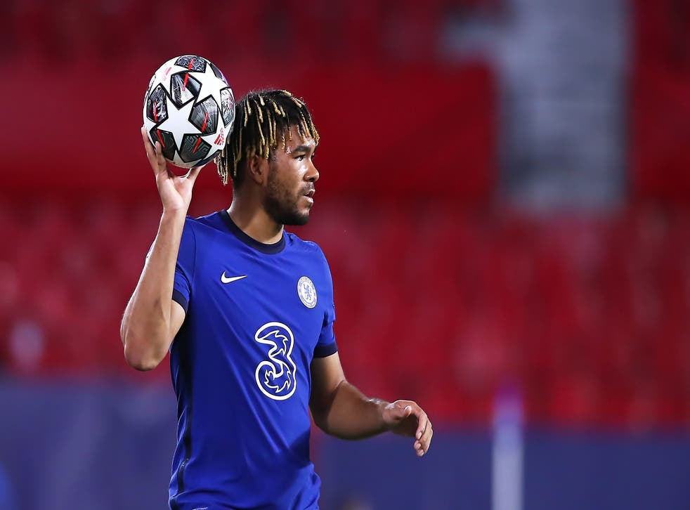 <p>Reece James has started Chelsea's last three Champions League matches</p>