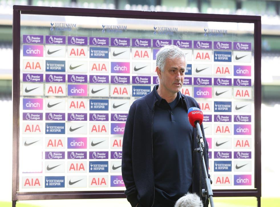 <p>Tottenham Hotspur manager Jose Mourinho refused to go into details on his club's form</p>