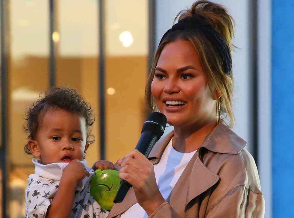 Chrissy Teigen had the most hilarious response when asked why she doesn't take enough photos of son Miles