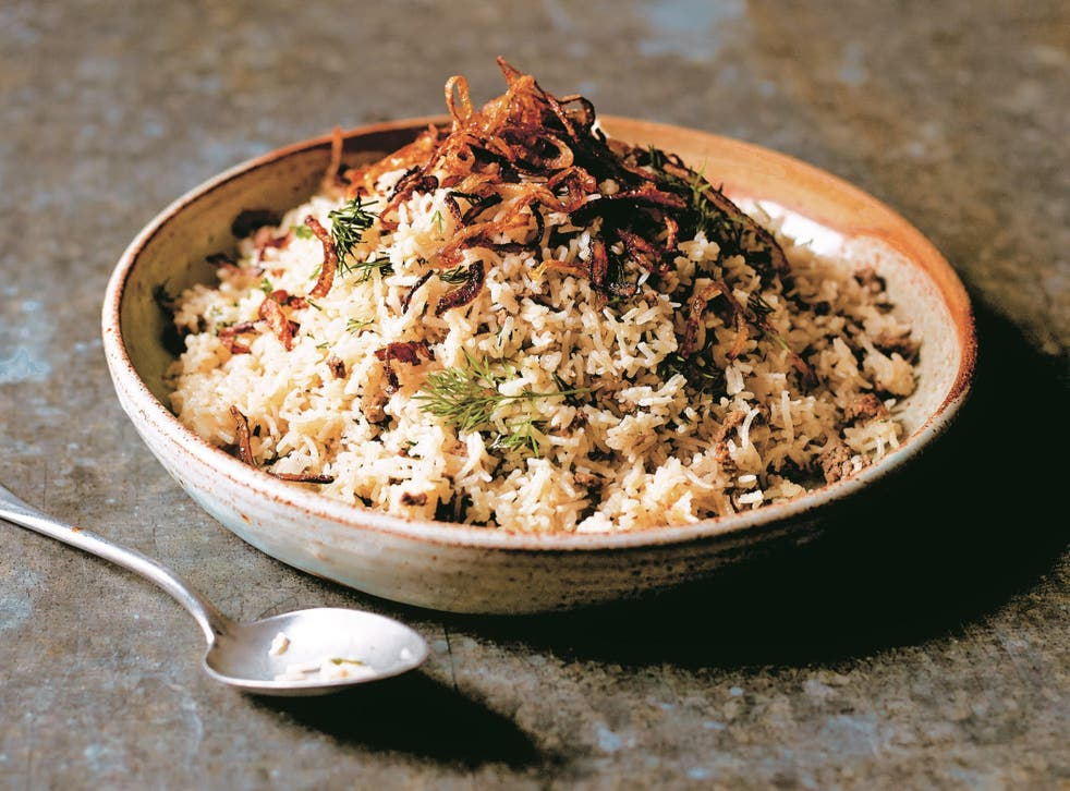 <p>Be prepared: Eating a balance of protein and carbohydrates is important while fasting – and a curry such as Asma Khan's Keema Sau Pulao is a great source of protein that can be prepared with minimum effort</p>
