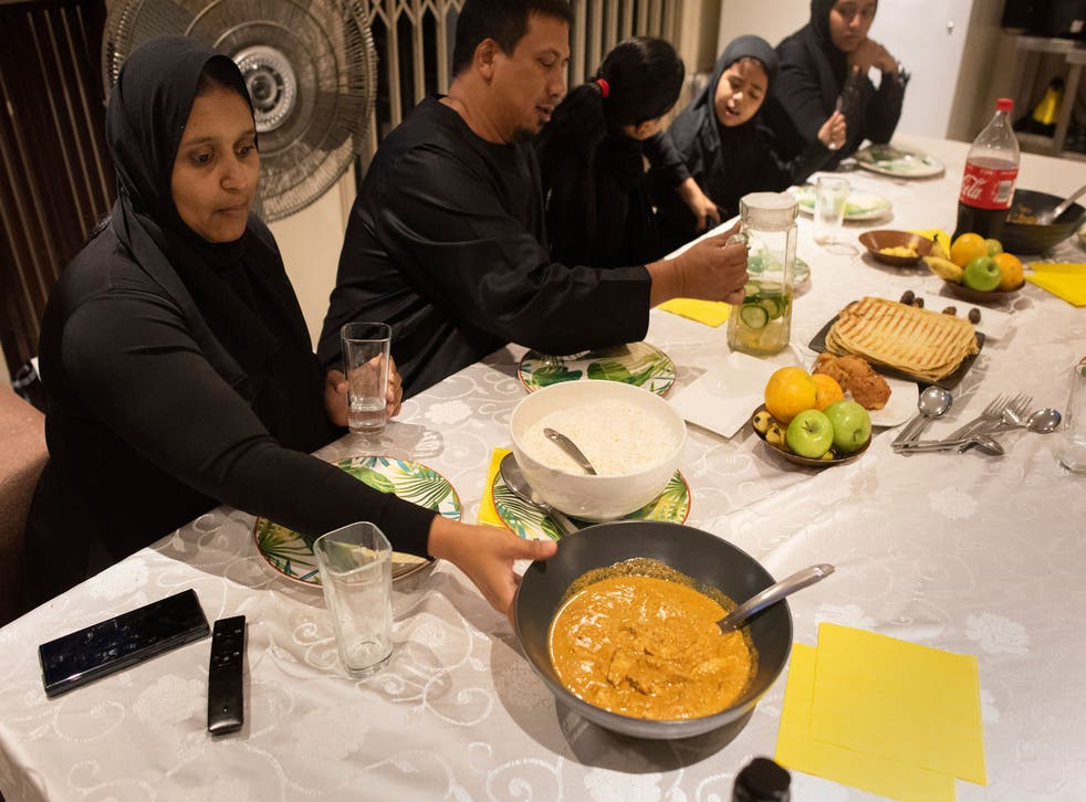 Family celebrates holy month of Ramadan, in Cape Town