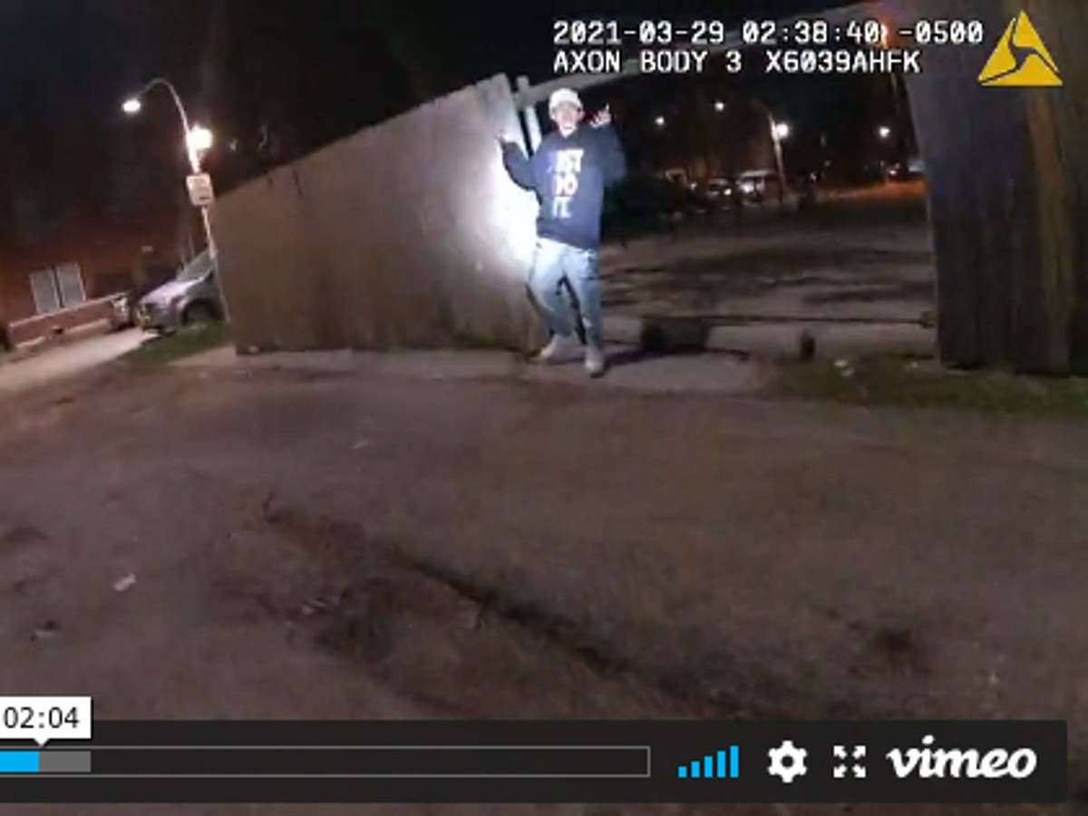 Adam Toledo: Bodycam video of police shooting shows 13-year-old's hands were up when he was shot