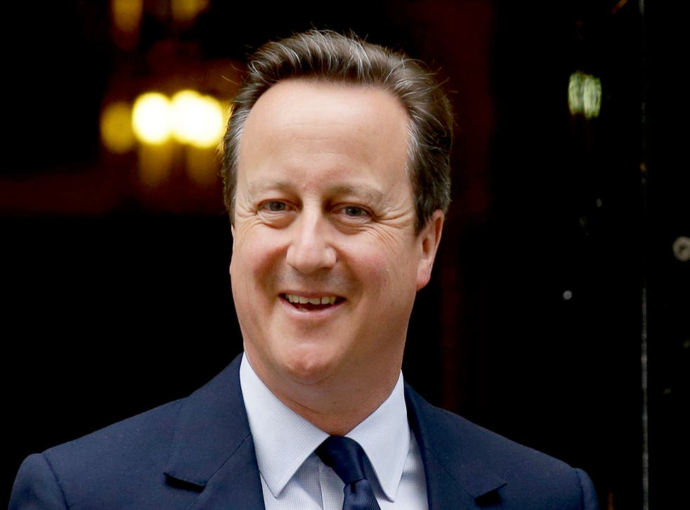 <p>Former prime minister David Cameron is in the spotlight over the Greensill scandal </p>