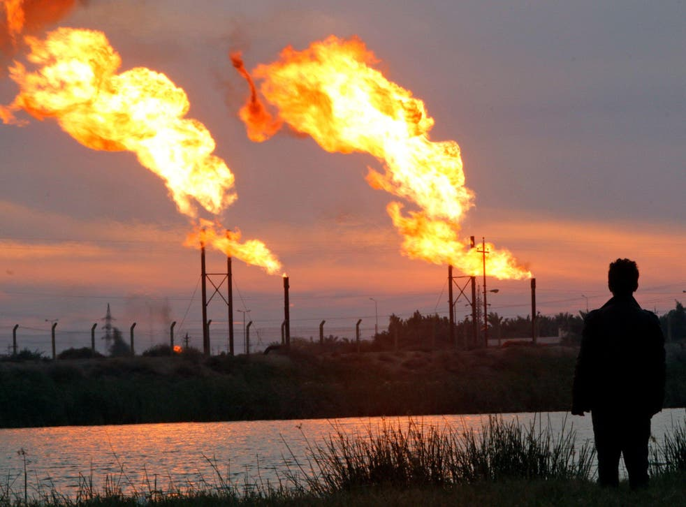 <p>Across Iraq, 17 billion cubic metres of gas are burnt a year</p>