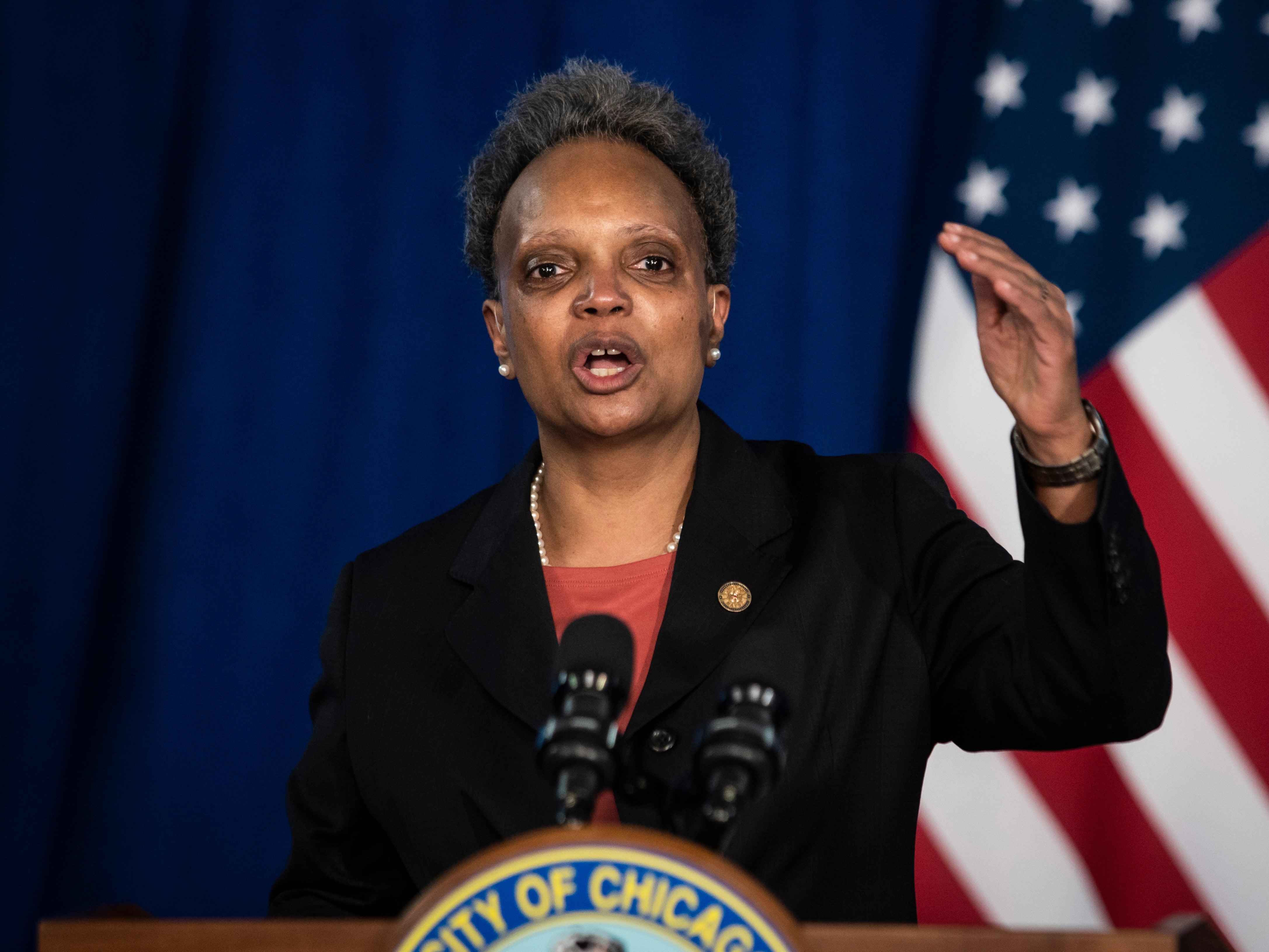 Thị trưởng Chicago Lori Lightfoot