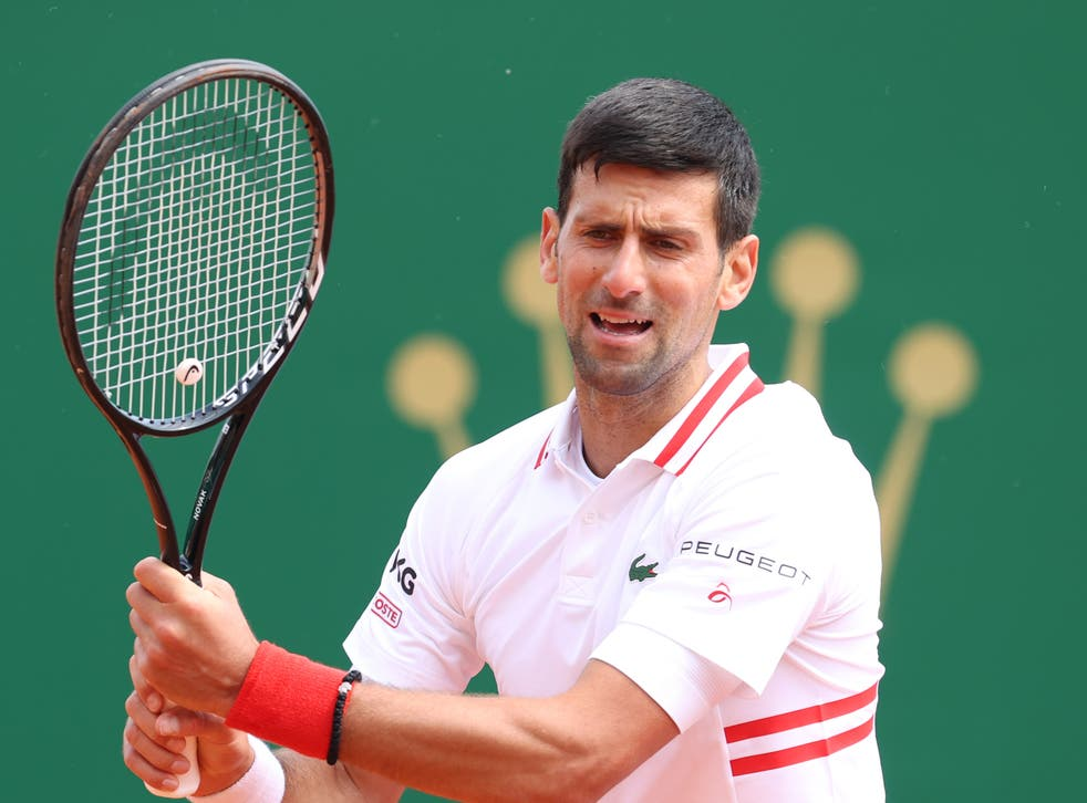 Novak Djokovic exited the Monte-Carlo Masters at the hands of Dan Evans