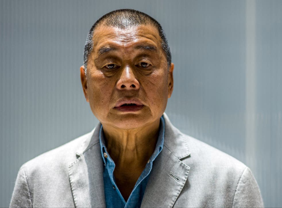<p>Apple Daily founder Jimmy Lai is currently serving a prison sentence</p>