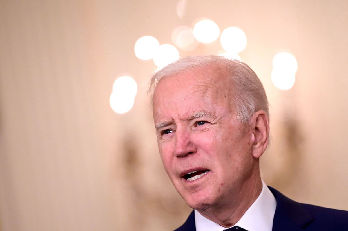Biden news - live: President to be briefed on Indianapolis FedEx shooting