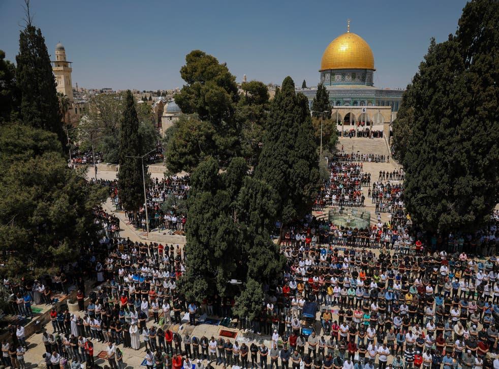 Israel Palestinians Ramadan