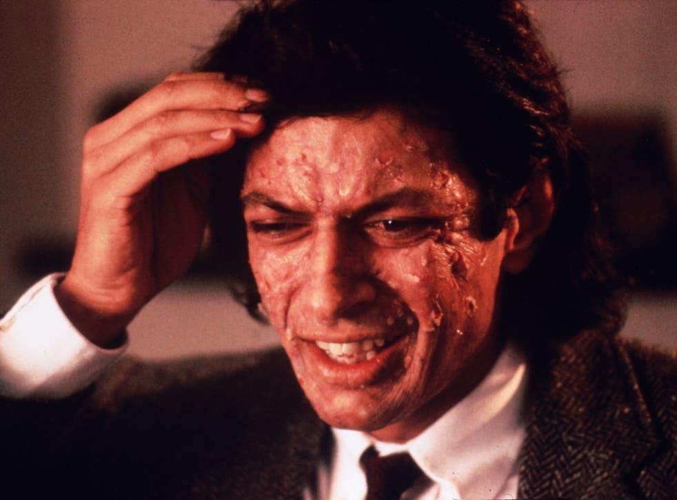 Be afraid, be very afraid: Jeff Goldblum in The Fly