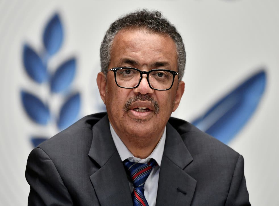 <p>Dr Tedros Adhanom Ghebreyesus warned that it was vital all countries recieved the Covid-19 vaccine as quickly as possible </p>