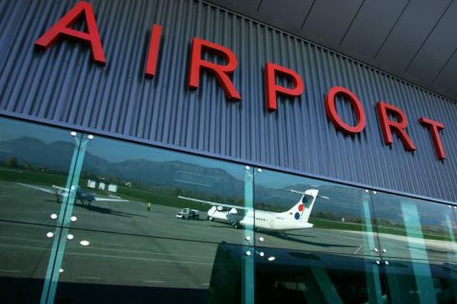 Control point: Tirana International Airport