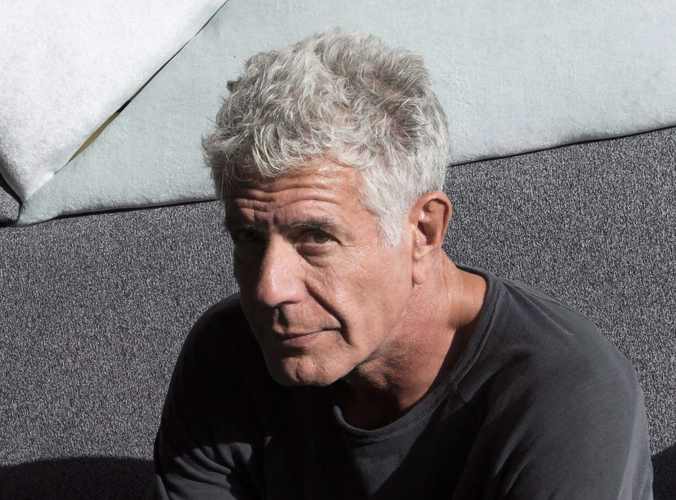 <p>A legacy honoured: Anthony Bourdain in 2016</p>