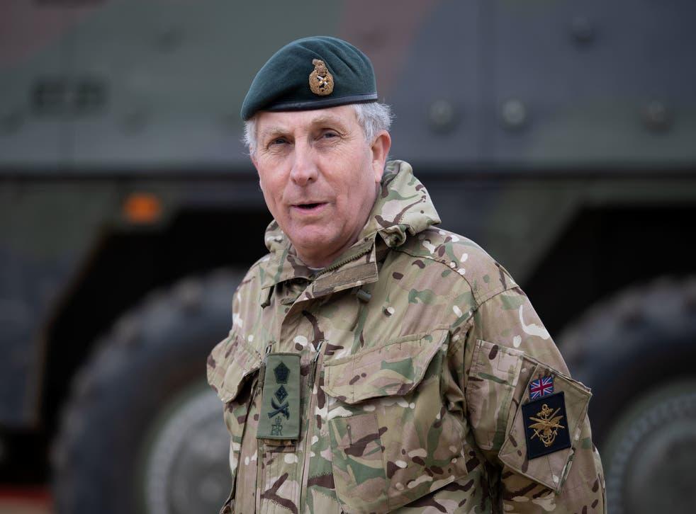 <p>Great pride: General Sir Nick Carter</p>